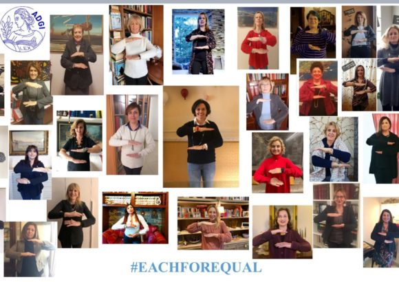 #eachforequal ADGI per l'azione di International Women's Day