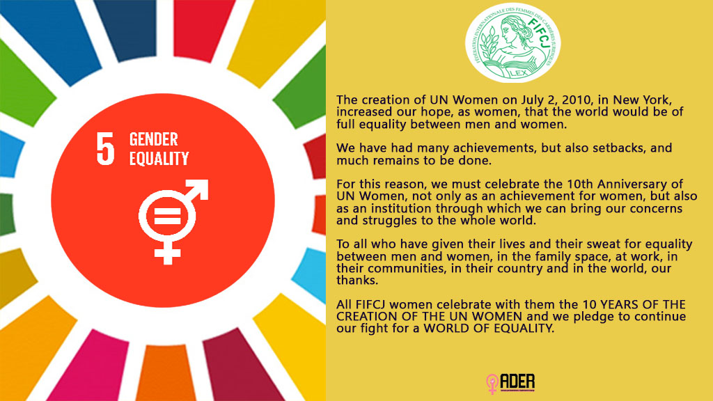 10 YEARS OF UN WOMEN